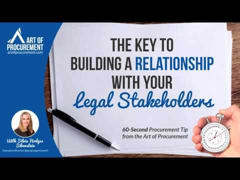The Key to Building a Relationship with your Legal Stakeholders w/ Silvia Hodges Silverstein