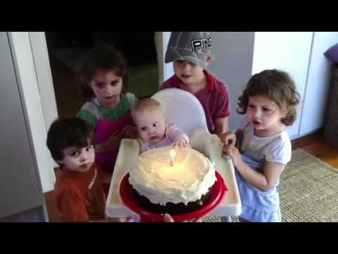 Millie Valentines 6 month birthday party.