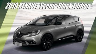New 2019 RENAULT Scenic Black Edition Overview