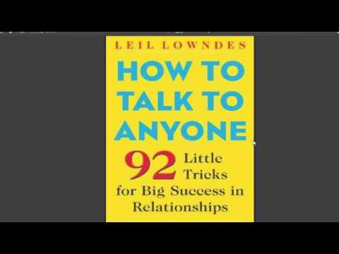 How To Talk To Anyone by Leil Lowndes PDF EPUB MOBI Ebook