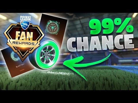 How To Get RLCS Fan Rewards 2018 (99.9% Drop Chance)
