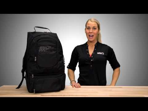 ISOPACK Blackout Meal Meal Management Backpack by Isolator Fitness