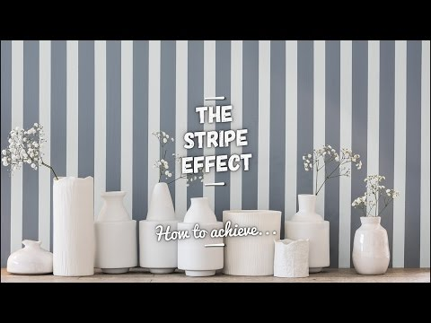 How to Paint a Simple Stripe Effect - Dulux