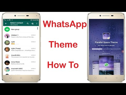 How to change Whatsapp Theme Colour on Android without root  No root