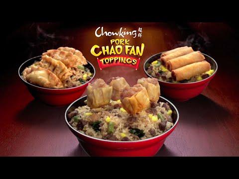 Chowking Pork Chao Fan Toppings