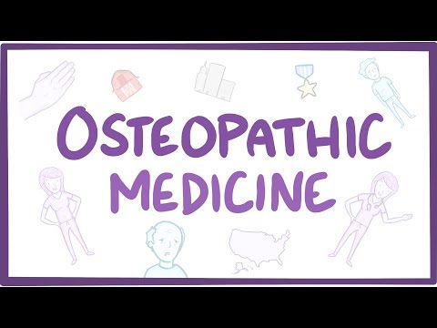 Osteopathic medicine (DO)