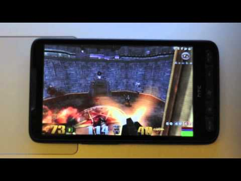 Quake III on HTC HD2