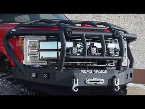 Road Armor Lifetime Off-Road Bumpers