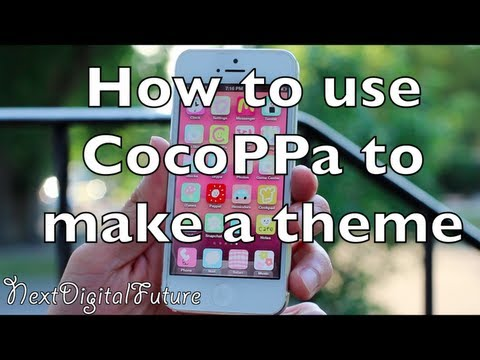 ► How to theme iPhone without Jailbreak - CocoPPA review