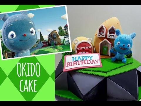 ::sugarcraft::'messy goes to okido' cake 호기심나라 오키도 케이크