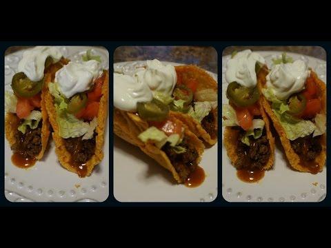 Low Carb Cheddar Taco Shells