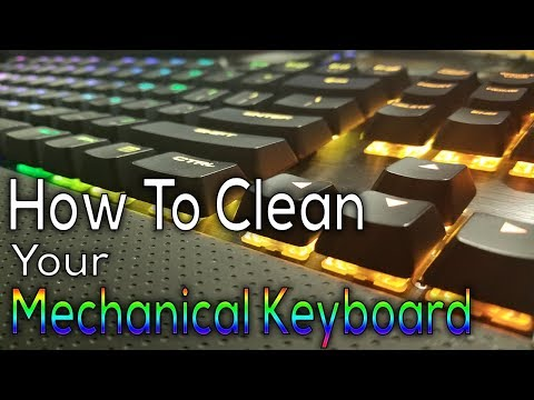 The Proper Way to Clean Your Mechanical Gaming Keyboard