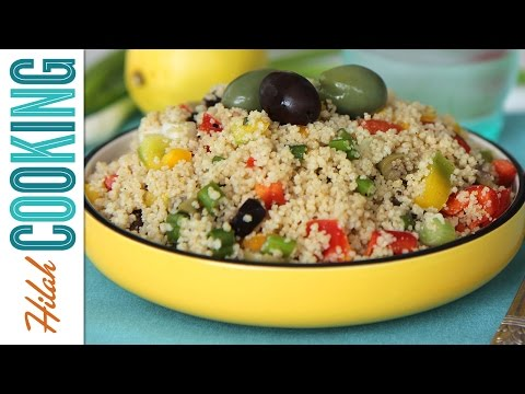 How to Make Couscous Salad |  Hilah Cooking