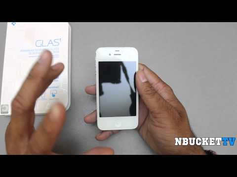 Best Screen Protector for Your Phone! - Spigen SGP GLAS.t iPhone 4S Screen Protector Review