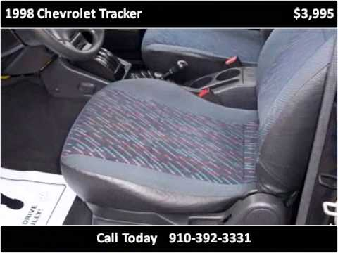 1998 Chevrolet Tracker Used Cars Willmington NC