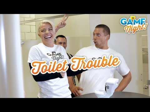 WWE Superstars play Toilet Trouble: WWE Game Night