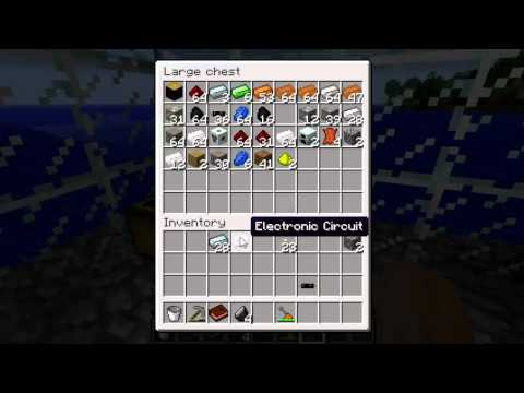 Let's Play IndustrialCraft Episode 5: New Recipes, Macerator, and MFE