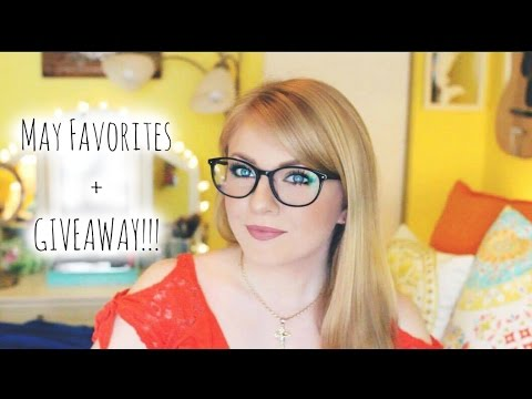 May Favorites + GIVEAWAY with 5 winners!!!