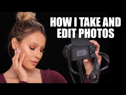 How I Take and Edit Makeup Photos - FACETUNE / ENLIGHT TUTORIAL
