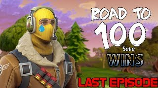 Last Episode of ROAD TO 100 SOLO wins (Emotional)