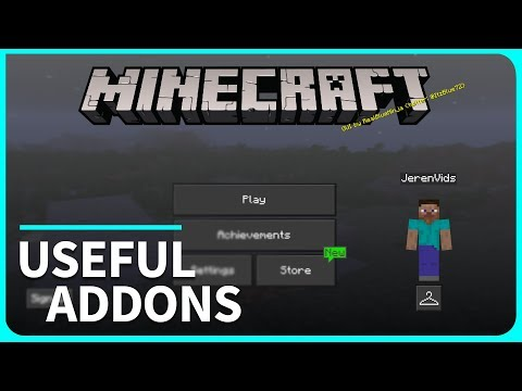 Minecraft PE Addons - TOP 3 Useful Addons and Texture Packs for iOS & Android - MCPE 1.2