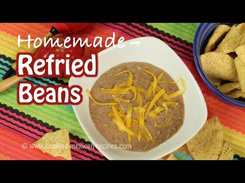 How To Make Refried Beans From Scratch With My Secret Ingredient | Rockin Robin Cooks