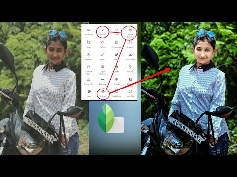 Snapseed photo editing,Click 3 button,best color effect photo editing,photo editing 2018