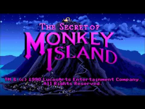 The Secret of Monkey Island - Macintosh II Soundtrack [Emulated]