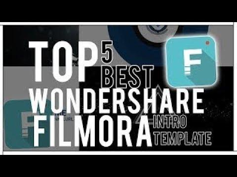 Top 5 Best Wondershare Filmora Intro Templates #1 + Free Download