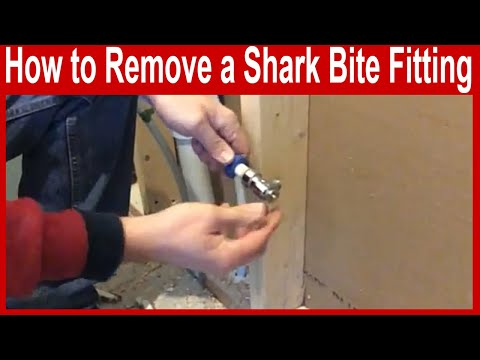 How to Remove a Shark Bite Plumbing Fitting