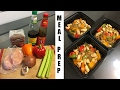 Healthy Chicken Stir Fry Noodles | Asian Meal Prep Recipes