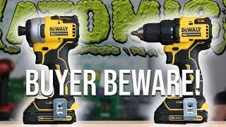 NEW DEWALT TOOLS 20V MAX ATOMIC COMBO KIT - WATCH BEFORE YOU BUY!