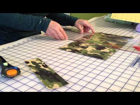 How To Use a Rotary Cutter and Cuttable Mat To Cut Fabric