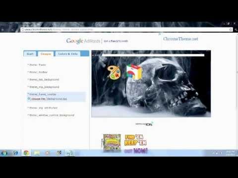 How To Make Google Chrome Themes + Original Theme Download