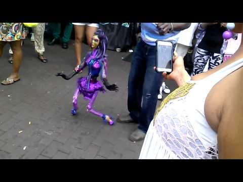 Puppet Dancing in Jamaica Queens