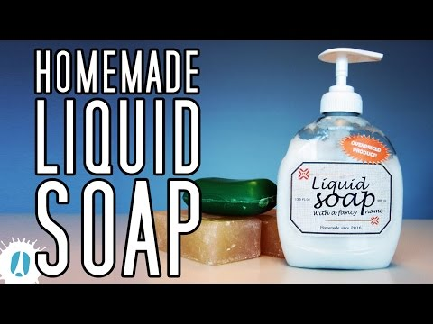 HOW-TO! An Easy Way To Make Your Homemade Liquid Soap #LifeHack #Hack