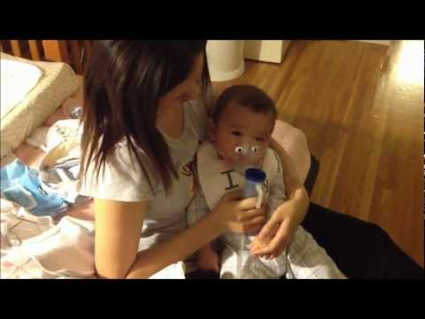Fatherhood - Baby has a Chest Cold 3-11-2012