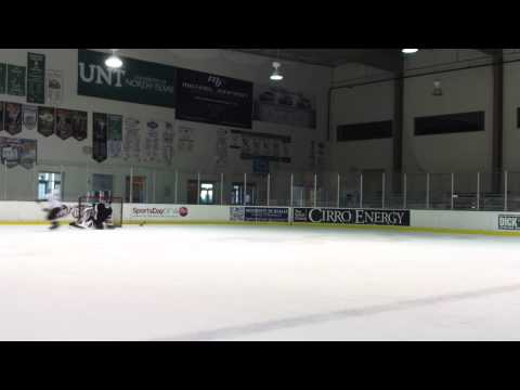 Hockey shots at Dr. Pepper Starcenter in Farmers Branch 11/29/12