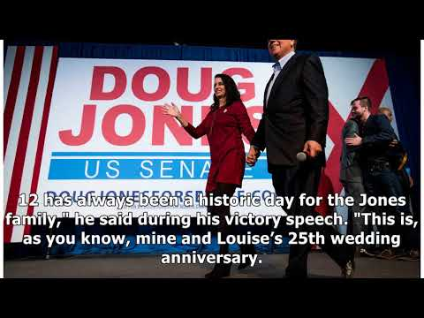 Doug jones celebrated both victory and his wedding anniversary on dec. 12  By Channel