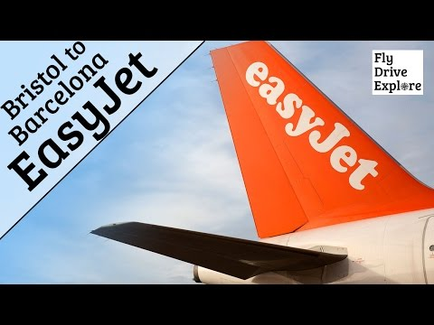 Easyjet Flight Review - Bristol Airport to Barcelona, Spain