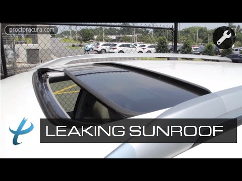 How to Prevent a Leaking Sunroof - Sunroof Repair