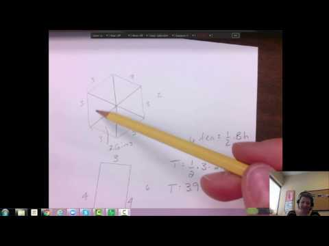 7th grade surface area of a hexagonal Right Prism example