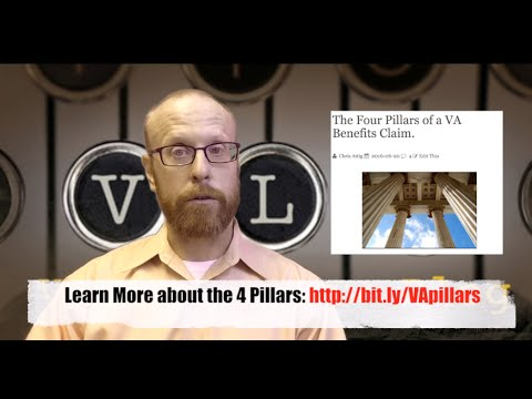 Learn the 4 Pillars of a VA Claim and SIMPLIFY your Fight with the VA