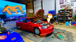 Jammin our way to 1000hp CIVIC!