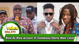 VGMA@20: Kwami Sefa Kayi Gives Blow By Blow Account Of Stonebwoy/Shatta Wale Clash