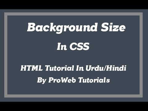 Background Size In CSS