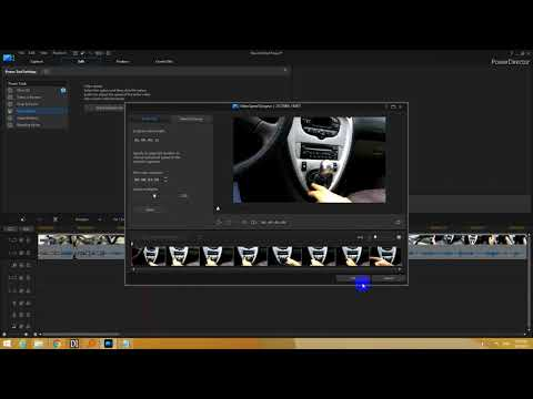 How to Speed up video & Keep Audio Pitch (PowerDirector)