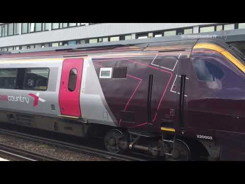 UK Trains: Southampton Central Station June 2017