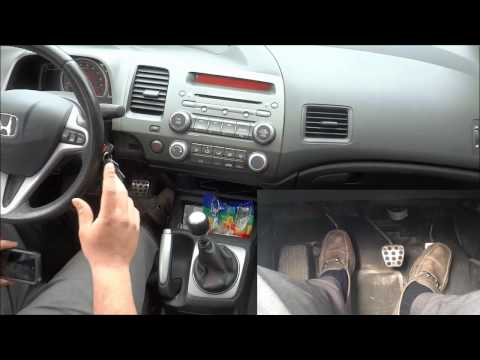 How To Drive A Manual Car In Traffic-Creeping Forward