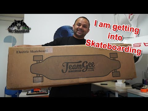 TeamGee Electric Skateboard from Indiegogo campaign Complete Indoor Review